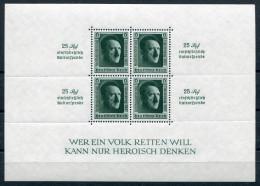 D. Reich Michel-Nr. Block 11 Postfrisch - Geprüft - Blocks & Kleinbögen