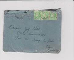 Enveloppe: Vire-caen -st Martin Des Besaces - Timbre - Cachet :  Corerspondance Deux  2 Personnes - Non Classés