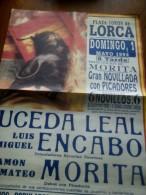 TOROS - Cartel Antiguo Plaza Corrida De Toros En LORCA 1994 - Mide 68 X 49 Cm - Afiches
