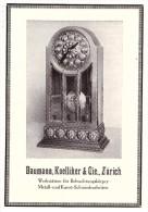 Original Werbung - 1914 - Baumann , Koelliker & Cie In Zürich , Kunst-Schmiedearbeiten , Uhren , Uhrmacher !!! - Montres Anciennes