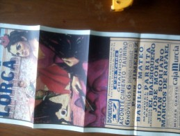 TOROS - Cartel Antiguo Plaza Corrida De Toros En LORCA 1993 - Mide 69 X 33 Cm - Afiches