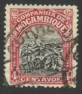 Mozambique Company, 4 C. 1925, Scott # 118, Used - Mozambique