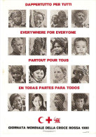 RED CROSS WORLD DAY RED CROSS1980-EVERYWHERE FOR EVERYONE;DAPPERTTUTO PER TUTTI - Red Cross