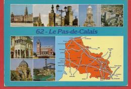 Carte Contour Géographique Du Département Du PAS DE CALAIS - Non Classés