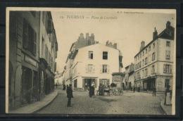 CPA: 71 - TOURNUS - PLACE DE LACRETELLE - France