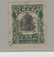 Panama Kanal Zone 17 (1907), überdruckt O - Panama