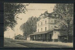 CPA: 71 - TOURNUS - GARE INTÉRIEURE - France