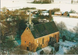 NL.- Westeremden, Oudtijds Emetha In De Gemeente Loppersum. 13e Eeuwse Kerk. 2 Scans - Pays-Bas