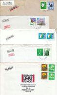 Japon : 38 Lettres Modernes Pour La France - Japon