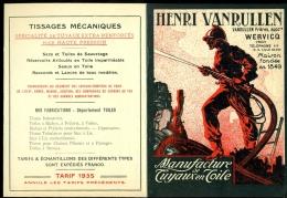 WERVICQ SUD / HENRI VANRULLEN / MANUFACTURE DE TUYAUX EN TOILE - France