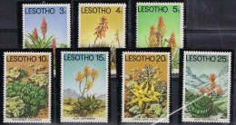 BB 170 LESOTHO  XX  YVERT NRS 323/329 ZIE SCAN - Timbres