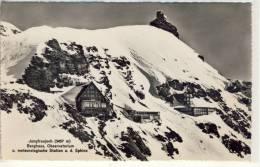 JUNGFRAUJOCH - Sphinx-Observatorium, Berghaus, U. Meteorologische Station - Astronomie