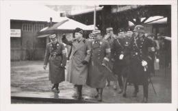 ETAT MAJOR DE L'ALLEMAGNE NAZIE ET DE L'ITALIE FASCISTE CARTE PHOTO (GUERRE DE 39.45) - Guerra 1939-45