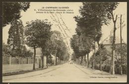 VILLENAUXE La GRANDE Avenue De La Gare Route De Sézanne (Chertier SL Simonet) Aube (10) - France