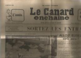 LE CANARD ENCHAINE , N° 1837 , 4 Janvier 1956 - Journaux - Quotidiens