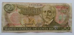 COSTARICA 50 COLONES 1993 VF - Costa Rica