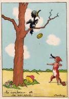 CP - STARLING - Barré Et Dayez - Barday - Illustrateur - Fable Conte Légende - Le Corbeau Et Le Renard - 1430B - Autres Illustrateurs