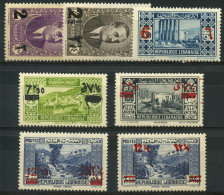 Grand Liban (1938) N 157 à 163 * (charniere) - Great Lebanon (1924-1945)