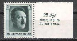 Reich Timbre Seul Issu Du Bloc 10 Neuf ** (Michel 650 ) - Blocks & Kleinbögen