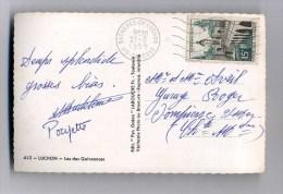 - FRANCE 1950/59 . N°1106 Y&T SUR CP . VARIETES DE COULEURS . - Errors & Oddities
