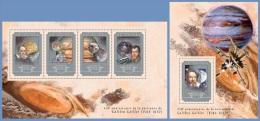 gu14605ab Guinea 2014 Space Galileo Galilei 2 s/s