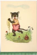 TierfigurVerlag: OGO. Druck, PostkarteErhaltung: I-II, ,Karte Wird In Klarsichthülle Verschickt.(H) - Comics