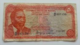 KENIA 5 SHILINGI 1978 VF - Kenia