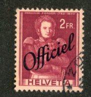5348 Swiss 1942  Mi.# 63  (o)  Scott # O-36  (cat. 4.50€) -- Offers Welcome! - Officials
