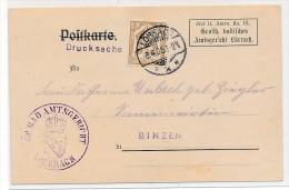 D.-Reich Dienst  EF.Nr.2    (bc3847   ) Siehe Scan  ! - Dienstpost