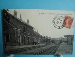 63 - Saint Eloy Les Mines - Intérieur De La Gare - 1919 - Saint Eloy Les Mines