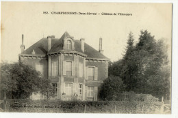 CHAMPDENIERS. - Château De Villeneuve - Champdeniers Saint Denis
