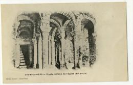 CHAMPDENIERS. - Crypte Romane De L'Eglise - Champdeniers Saint Denis
