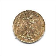 20 FRANCS OR - Troisiéme République - Type Génie - Année 1876 A - SUP - L. 20 Francs