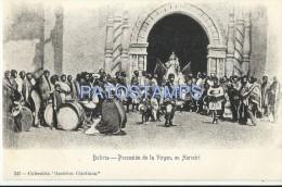 2056 BOLIVIA HURMIRI POTOSI PROCESSION OF THE VIRGIN POSTAL POSTCARD - Bolivia