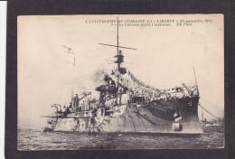 Catastrophe Du Cuirassé La Liberté 25 Septembre 1911, Le Cuirassé Avant L'explosion - Warships