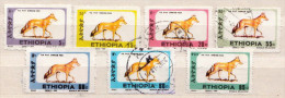 Ethiopia Used Simeon Fox Stamps, First Issue - Stamps