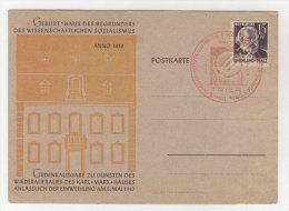 Rheinland Pfalz Michel No. 5 auf Karte mit Zudruck
