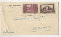 Algerien Michel No. 110 , 123 auf Brief