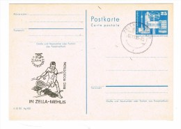 TENNIS - DDR - Postal Stationery - Entier Postal - 75 Years Tennis Sport - Tennis