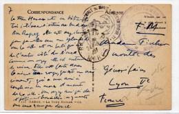 """1937 - CP FM Avec CACHETS """"INFIRMERIE De RABAT"""" + """"INFANTERIE COLONIALE DU MAROC - Marcophilie (Lettres)"""