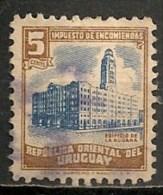 Timbres - Amérique - Uruguay -  ENCOMIENDAS - 1945 - 5 Centesimos - - Uruguay