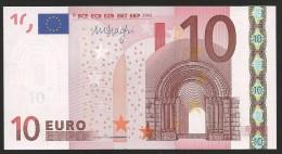 "Greece  ""Y"" 10  EURO GEM UNC! Draghi Signature!!  ""Y""   Printer  N037H6 ! - EURO"