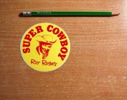 Vintage 70's Actor Acteur Roy Rodgers Sticker Decal - Non Classificati