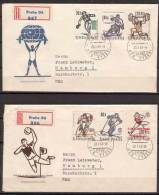 Tschechoslowakei / CSSR , FDC , 1963 , Mi. Nr. 1377 - 1382 , Weitere Scans - FDC