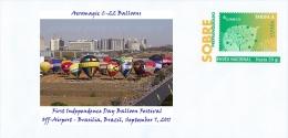 SPAIN, 2014 Aeromagic C-22 Balloons  First Independence Day Balloon Festival Brasilia, Brazil, September 7, 2011 - Altri (Aria)