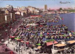 Marseille.. Animée.. Le Port.. Le Quai De Rive-Neuve.. Le Pharo.. Bateaux.. Voitures - Old Port, Saint Victor, Le Panier