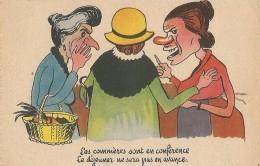 Les COMMERES - Künstlerkarten