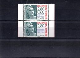 FRANCE P 2934A** SUR LE TIMBRE MARIANNE POUR LA JOURNEE DU TIMBRE - Unused Stamps