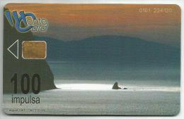 Montenegro 2001. Chip Card Sea