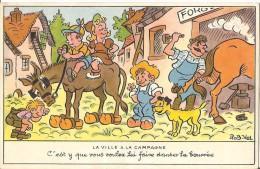 Carte Signée ROB-VEL - Künstlerkarten